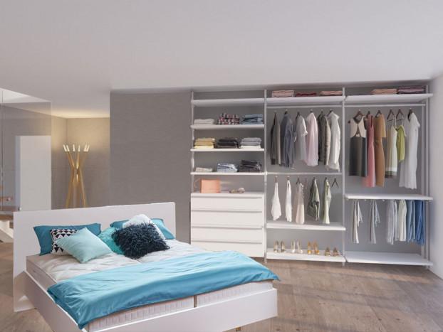 Schlafzimmer: Kleiderschrank AMICA inkl. Designbett