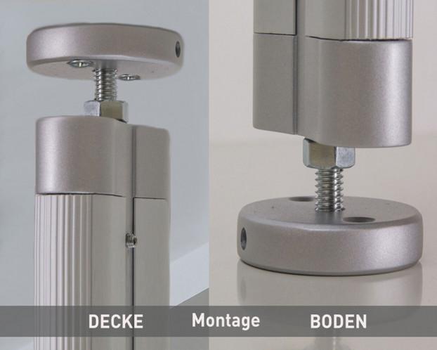 1tlg. Boden-Decken-Profil Länge 296,0 cm