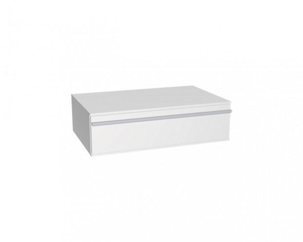 Schrankelement mit 1 Schublade | Weiß