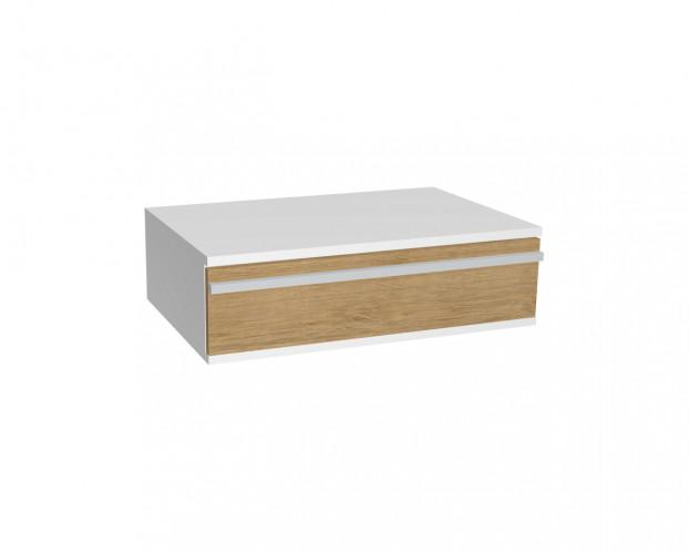 Schrankelement mit 1 Schublade | Wildeiche