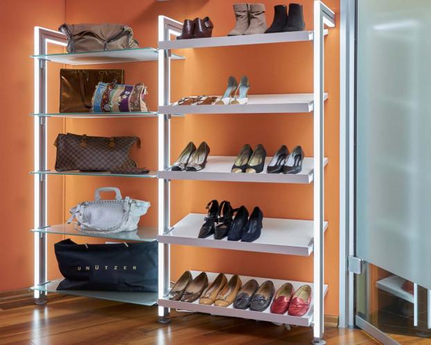 Schuh- und Taschenregal MOLLI