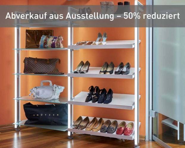 Schuh - und Taschenregal MOLLI - Ausstellungsware