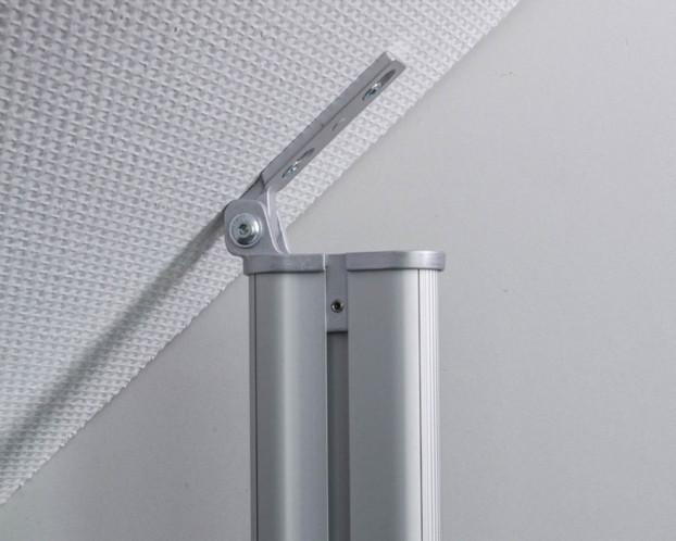 3tlg. Dachschrägen-Profil für Beleuchtung 101 cm