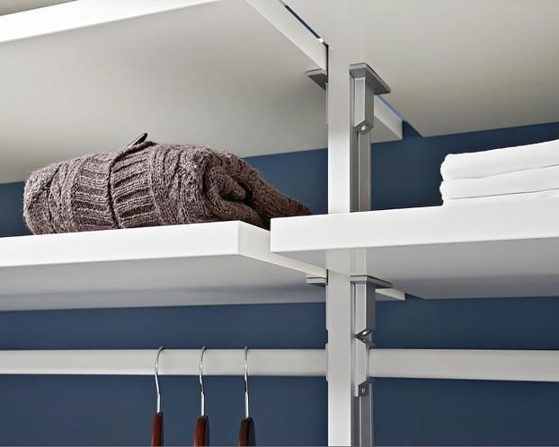 1 Set = 2 St. Holzböden f. Kleiderschrank begehbar