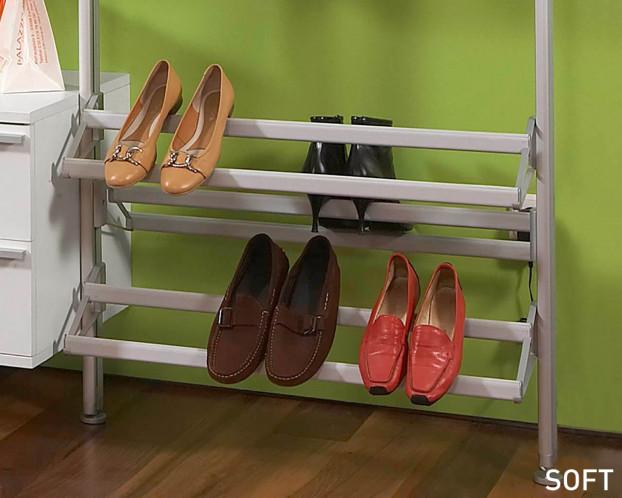 offener Schuhträger 100 cm Breite (zum selbst kürzen)
