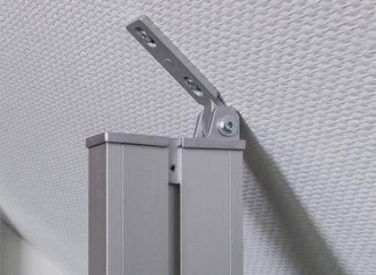 Premium-Profil mit Dachschrägenadapter