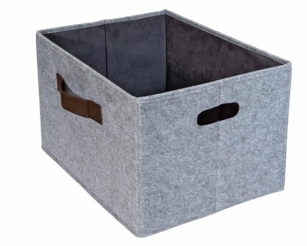 Filzbox sehr stabil | Aufbewahrungskorb Filz