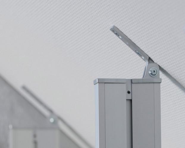 1tlg. Dachschrägenprofil für Ankleidezimmer Länge 151 cm