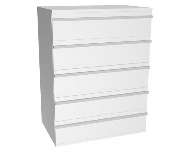 Schrankelement mit 5 Schubladen | Weiß